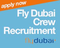 Apply now for Cabin Crew at Fly Dubai